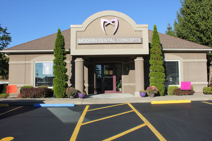 front of office at Modern Dental Concepts